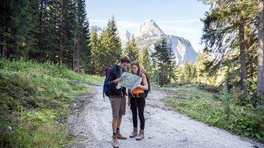 Adelaarsweg etappe 16: Wanderung zwischen Leutasch und Ehrwald, © Tirol Werbung/Dominik Gigler