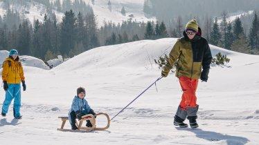 Rodelplezier in Sillian, © Tirol Werbung / Hans Herbig