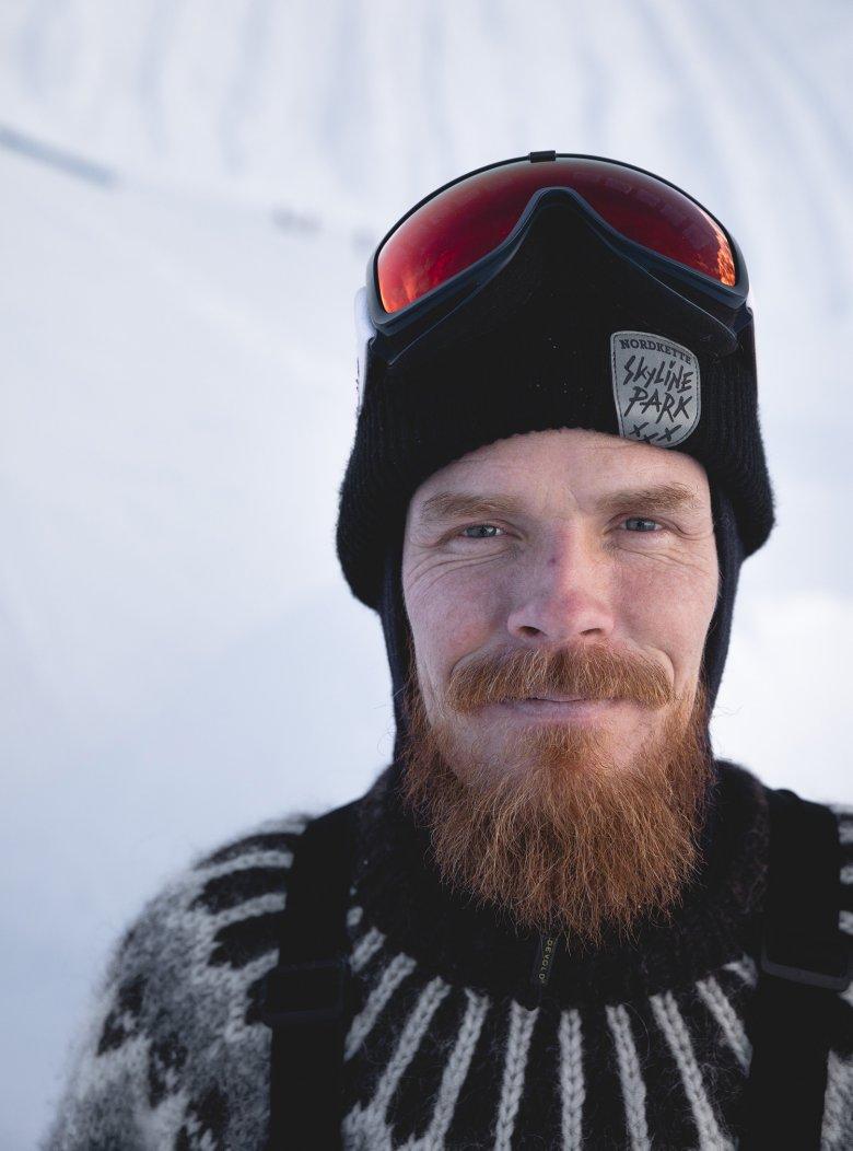 De sympathieke IJslander leeft sinds 20 jaar in Tirol.