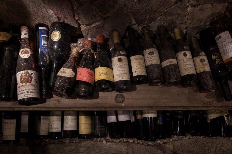 6.000 Flaschen feinster Weine aus aller Welt lagern in Annemarie Foidls Keller.