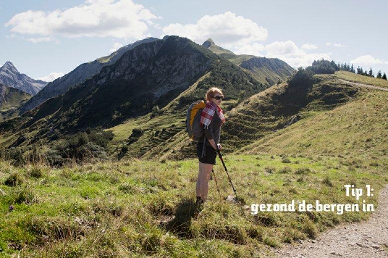Tip 1: gezond der bergen in