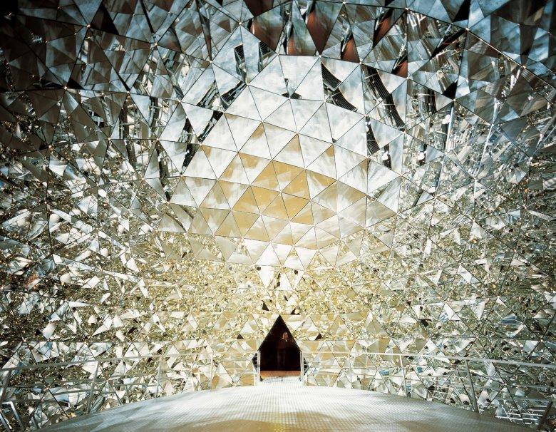 Binnenin de Kristallwelten. Foto: Swarovski Kristallwelten