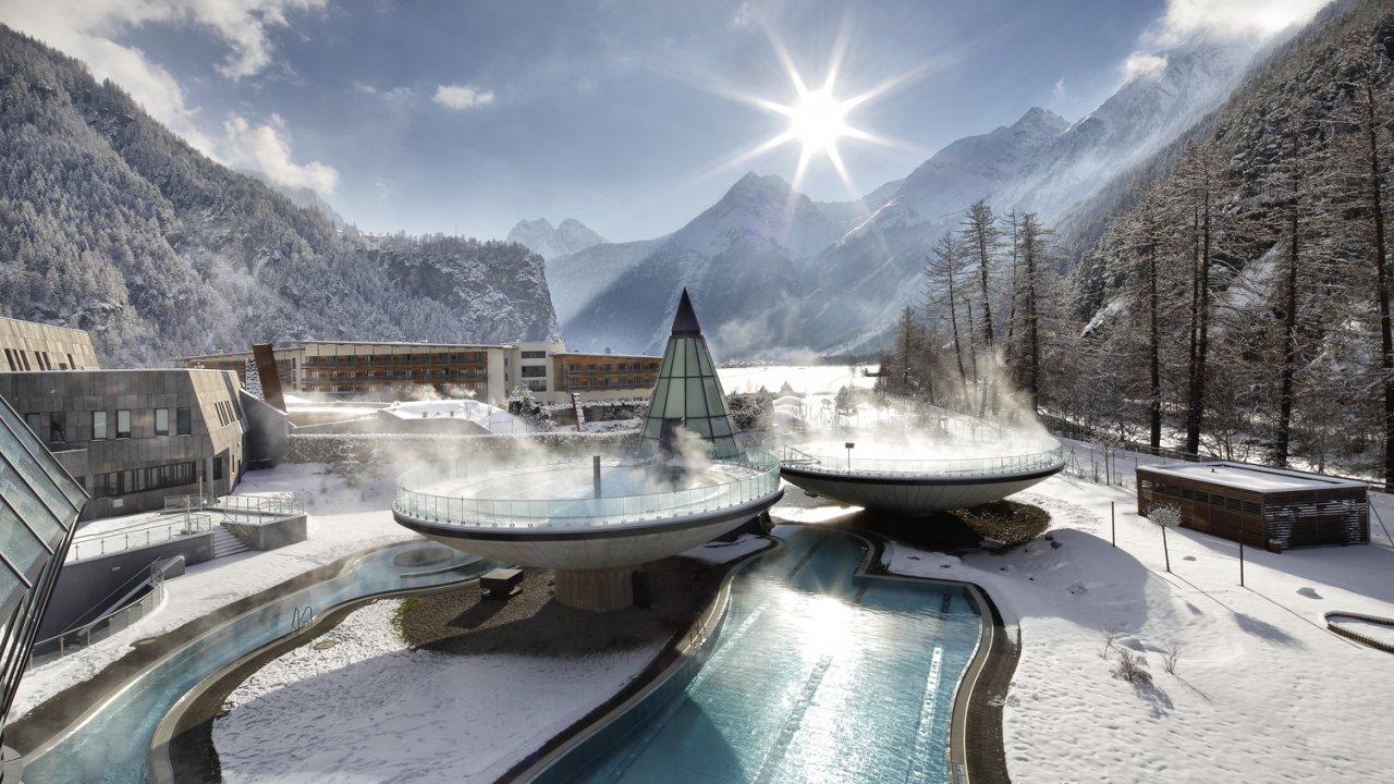 Aqua Dome in het winter, © Aqua Dome