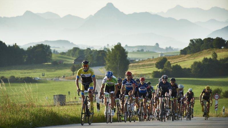 De Rad-Marathon voert door prachtige berglandschappen., © Marco Felgenhauer