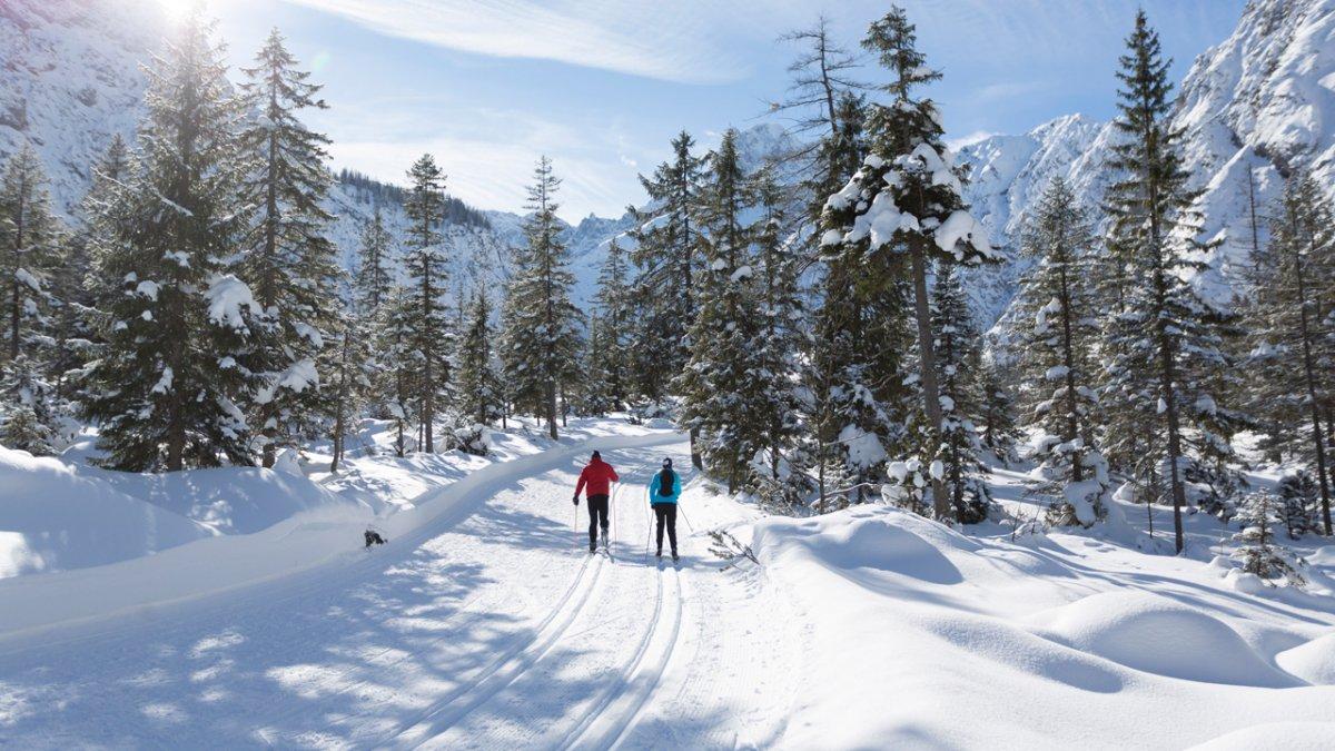Langlaufen in het Karwendeldal bij Pertisau, © Tirol Werbung/W9 STUDIOS