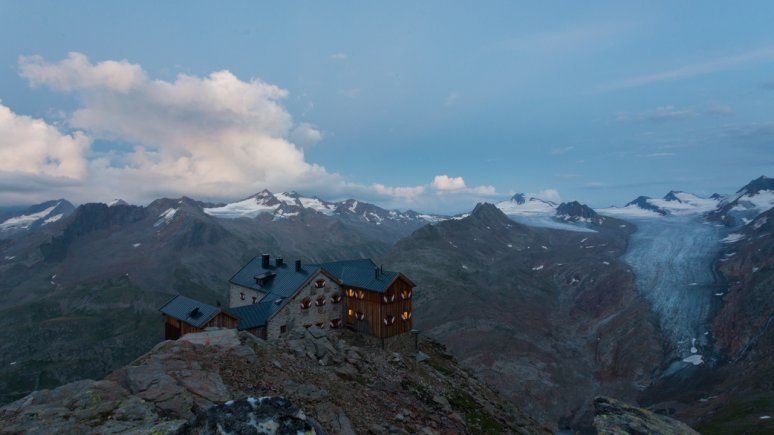 Ramolhaus in de Ötztaler Alpen, © Tirol Werbung/W9 STUDIOS