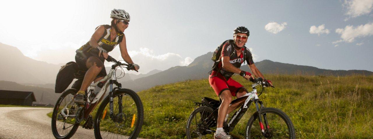 E-bikeplezier in Ferienregion Imst, © Archiv Imst Tourismus