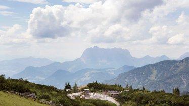 Triassic Park in het berglandschap Wilden Kaisers, © Tirol Werbung/Frank Bauer
