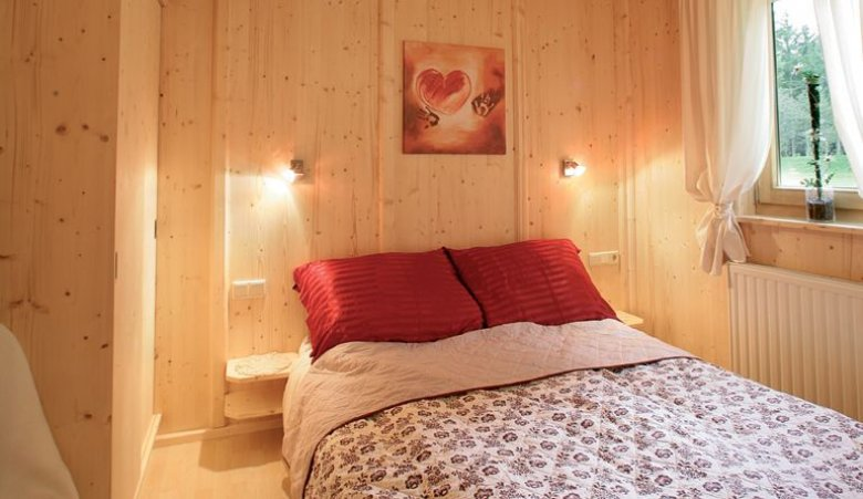 Alpine Lodges op de camping Ötztal