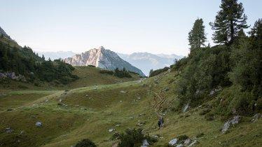 Adelaarsweg etappe 6: Brandenburger Alpen, © Tirol Werbung/Jens Schwarz