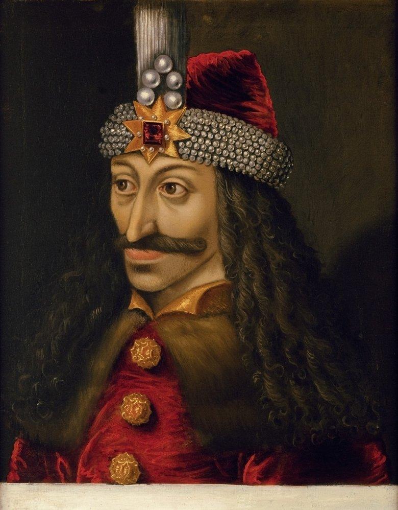 """Vlad III. Tepes (""""Pfähler""""), 1430-1477. Het portret is in het Schloss Ambras in Tirol tentoongesteld. (Foto: KHM Museumsverband), © KHM Museumsverband"""