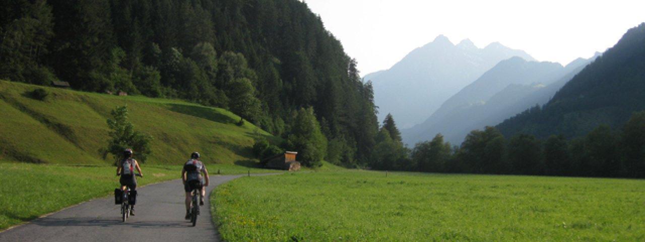 Etappe 3: uitgangspunt Landeck richting Pfunds, © Tirol Werbung