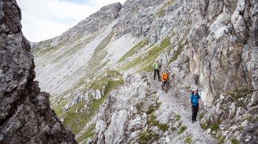 Adelaarsweg etappe 23: Lechtaler Alpen, © Tirol Werbung/Dominik Gigler