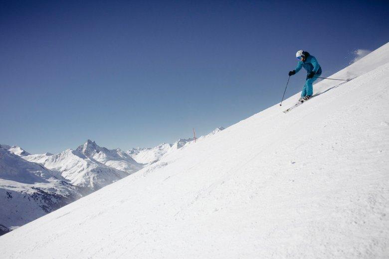Seizoensfinale: rustig skiën met véél vitamine D. , © Manfred Jarisch