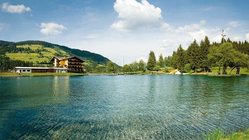 Badesee Kirchberg, © Kitzbüheler Alpen - Brixental