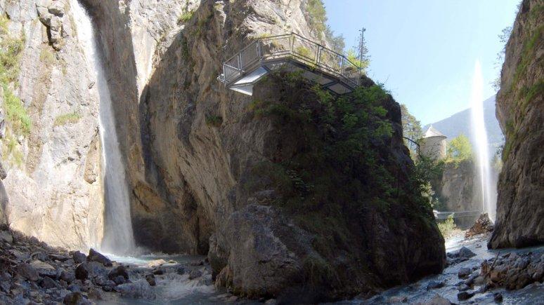 Lötzer waterval in Zammer Lochputz, © Archiv TVB TirolWest, Erich Auer
