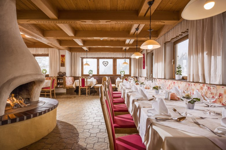 In het restaurant van het Bio-Landhaus Seethaler worden gasten op aanvraag met vegane lekkernijen verwend. , ©  Bio-Landhaus Seethaler