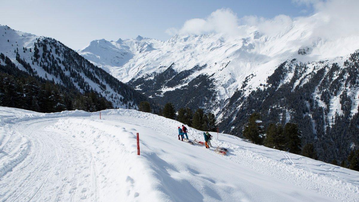 Rodelbaan Juifenalm in het Sellraintal, © Tirol Werbung/Mario Webhofer
