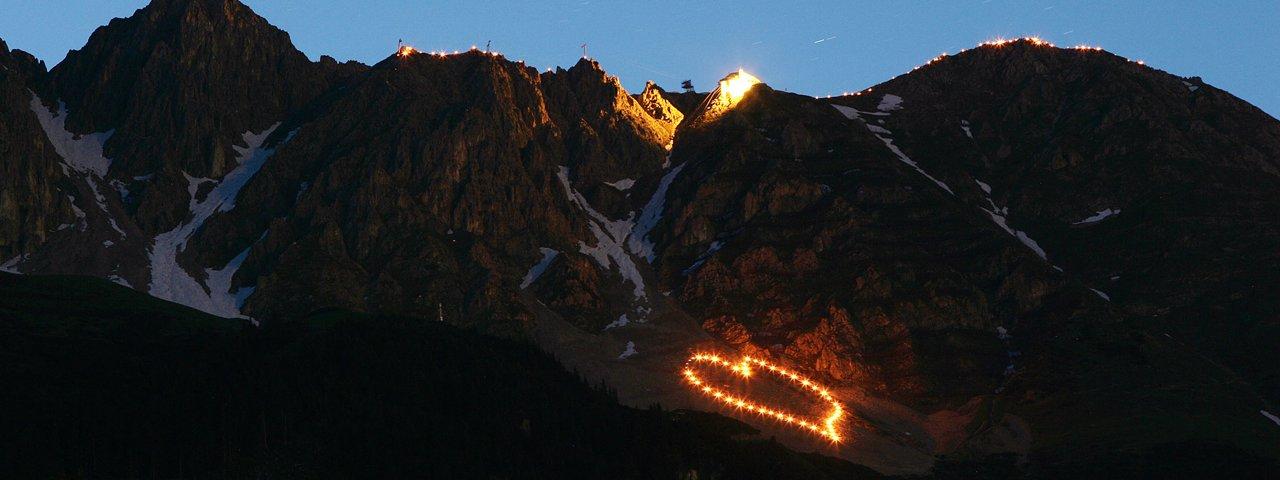 Bergvuur bij de Innsbruck Nordkette, © Tirol Werbung/Christian Wührer