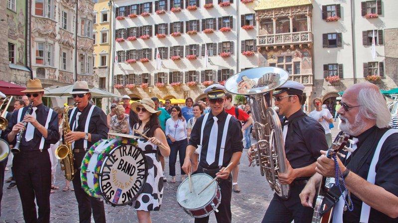 New Orleans Festival in Innsbruck, © Innsbruck Tourismus / Christof Lackner