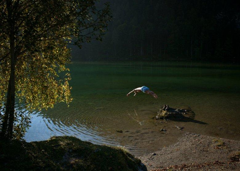 Wildzwemmen in de Hintersteiner See. , © Tirol Werbung, Jens Schwarz