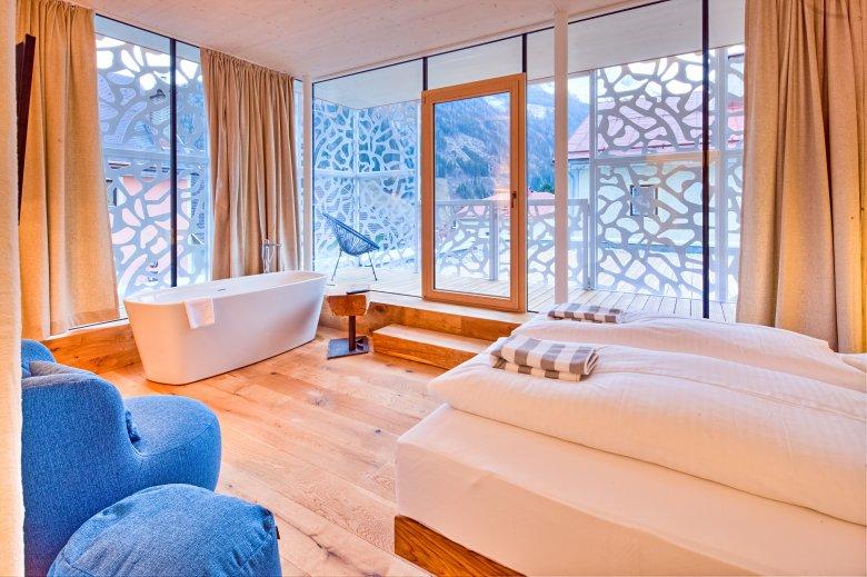 Baden met uitzicht, © Hotel Hinteregger, Madritsfch Pfurtscheller