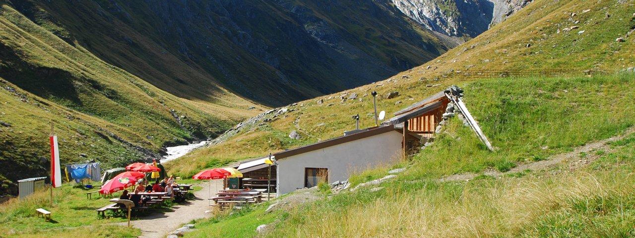 Clarahütte in het achterste Virgental, © Anne Gabl