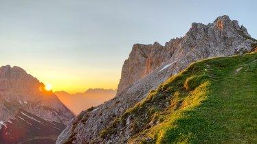 Zonsopgangstour op de Serles, © Tirol Werbung/Emanuel Kaser
