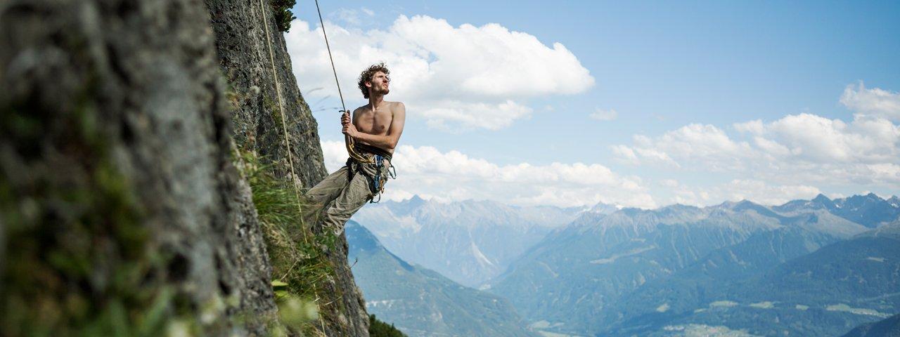 Klimmen bij de Muttekopfhütte, © Tirol Werbung/Peter Neusser