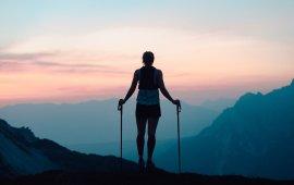 Trailrunning laat geen milieuschadelijke voetafdruk achter.