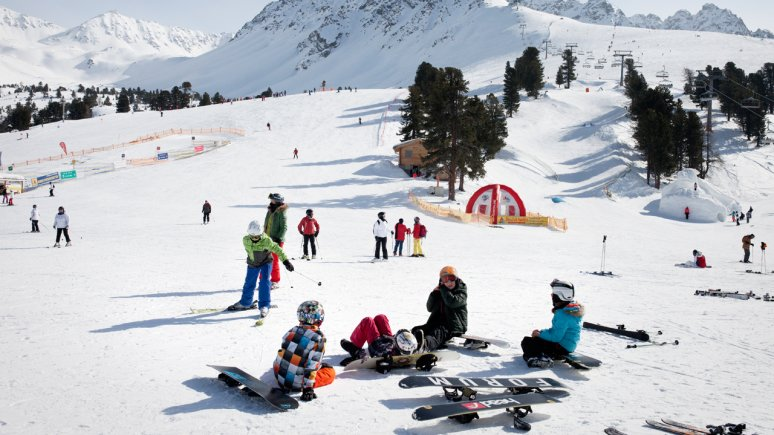 Skigebied Nauders, © Tirol Werbung/Verena Kathrein