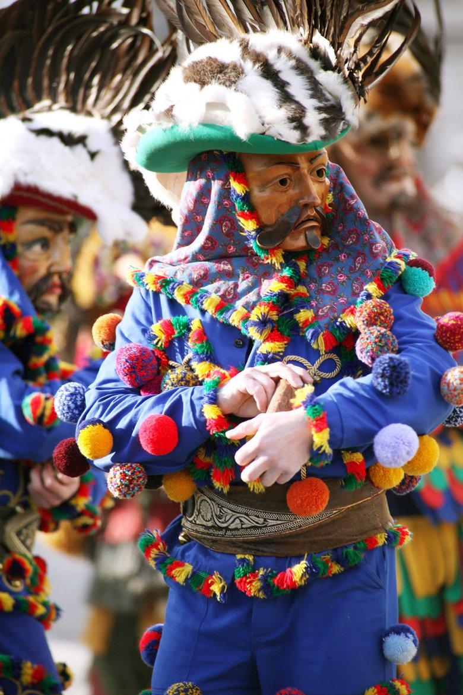 In de MARTHA-dorpen wordt carnaval met Mullern en Matschgerern gefeest.