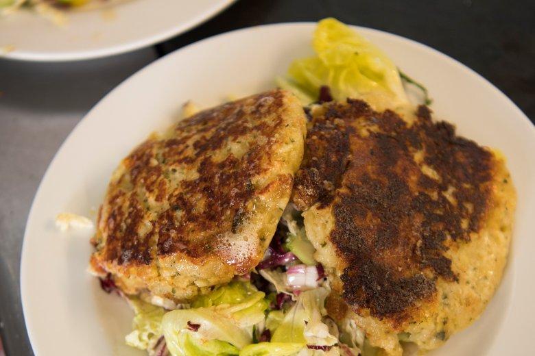 Niet te versmaden op de Peer Alm: Kaspressknödel met véél kaas!