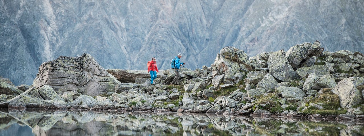 Bergmeer langs de Stubaier Höhenwegs, © TVB Stubai Tirol/Andre Schönherr