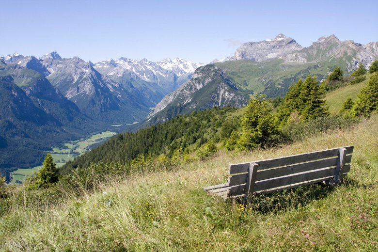 De perfecte plek om te ontspannen – hoog boven het Gschnitztal. , © Tirol Werbung, Markus Jenewein
