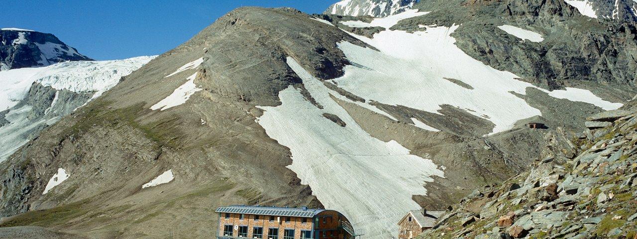 Adelaarsweg Osttirol etappe 9: Stüdlhütte, © Grafik Zloebl