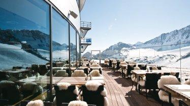 Restaurant Schaufelspitz, © Stubaier Gletscher/Andre Schönherr