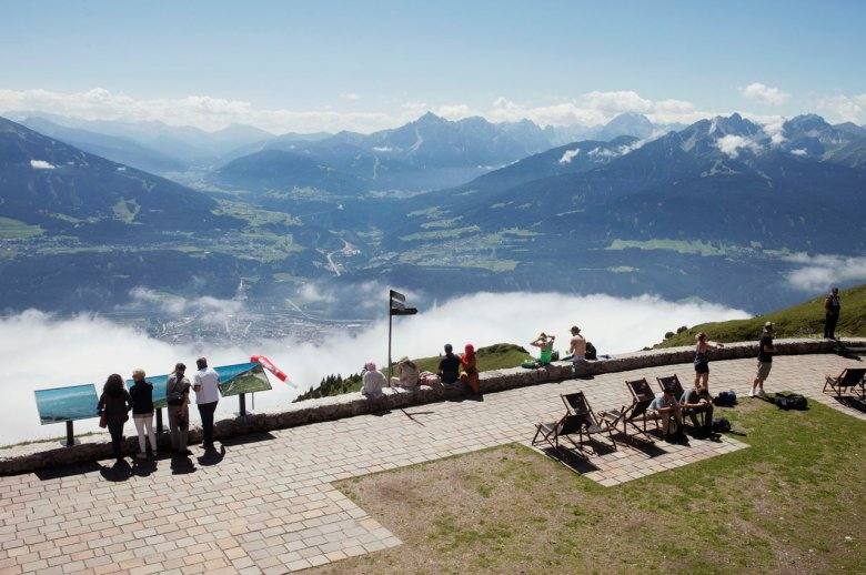 Uitzicht vanaf Seegrube