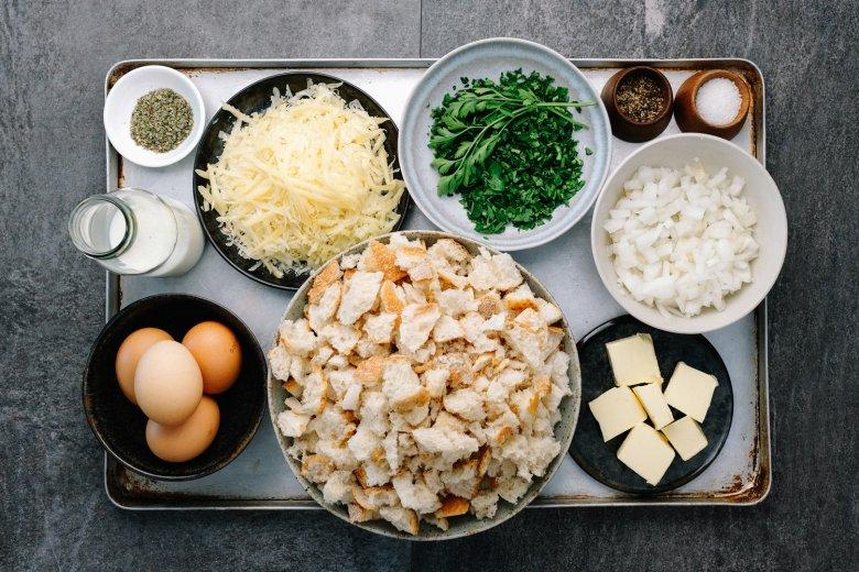 Kaspressknödel: ingrediënten