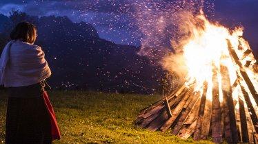 Het bergvuur op de Hartkaiser is een geliefd spektakel, © Daniel Reiter / Peter v. Felbert
