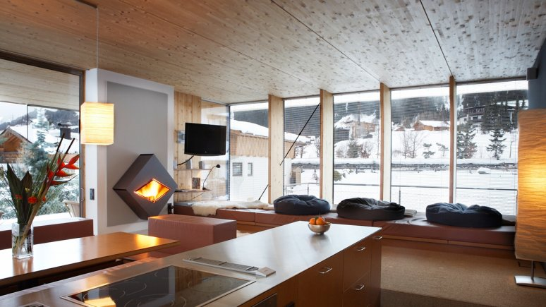 Anton Aparthotel in St. Anton am Arlberg, © urlaubsarchitektur.de/Foto: Hotel Anton