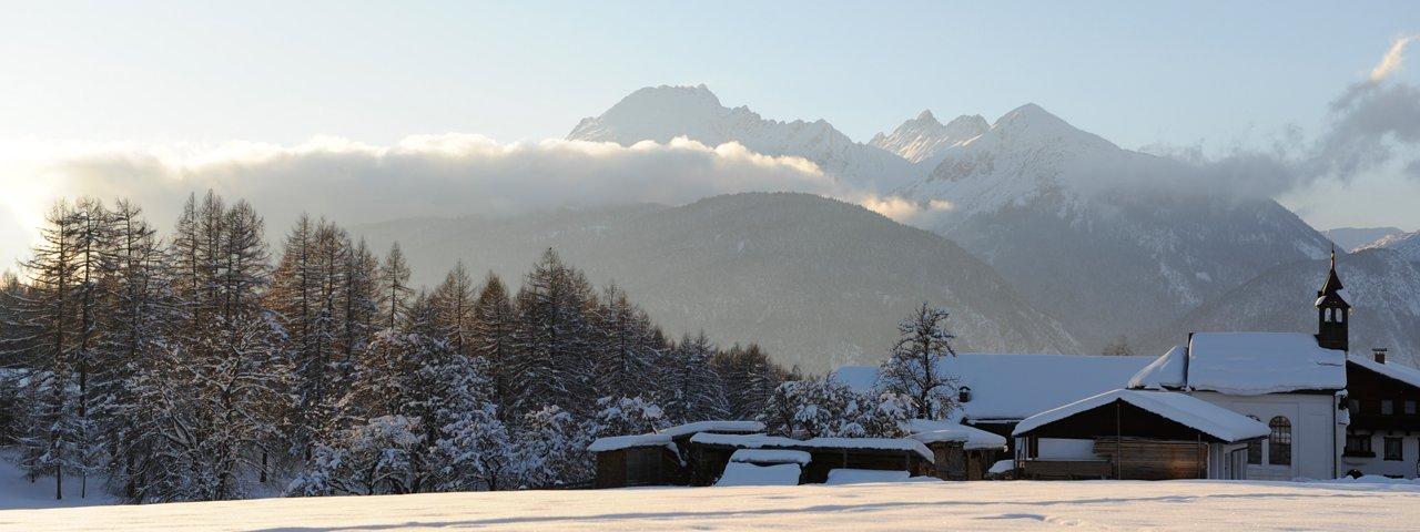 Op de 'genuss' route in Wildermieming, © Innsbruck Tourismus / Laurin Moser