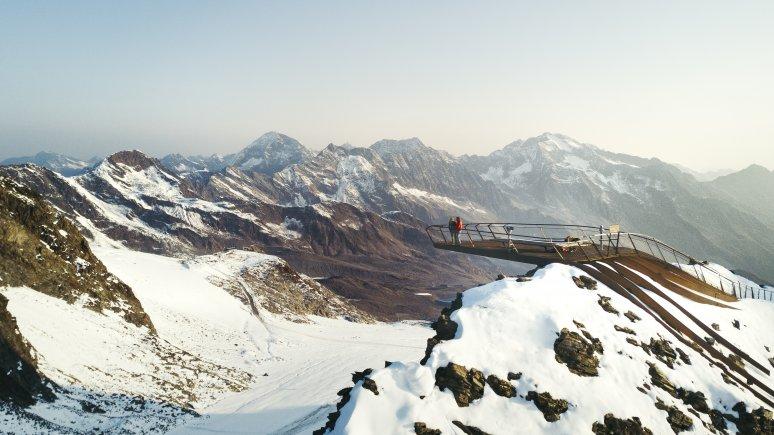 Top of Tyrol Gipfelplattform Stubaier Gletscher, © Andre Schönherr