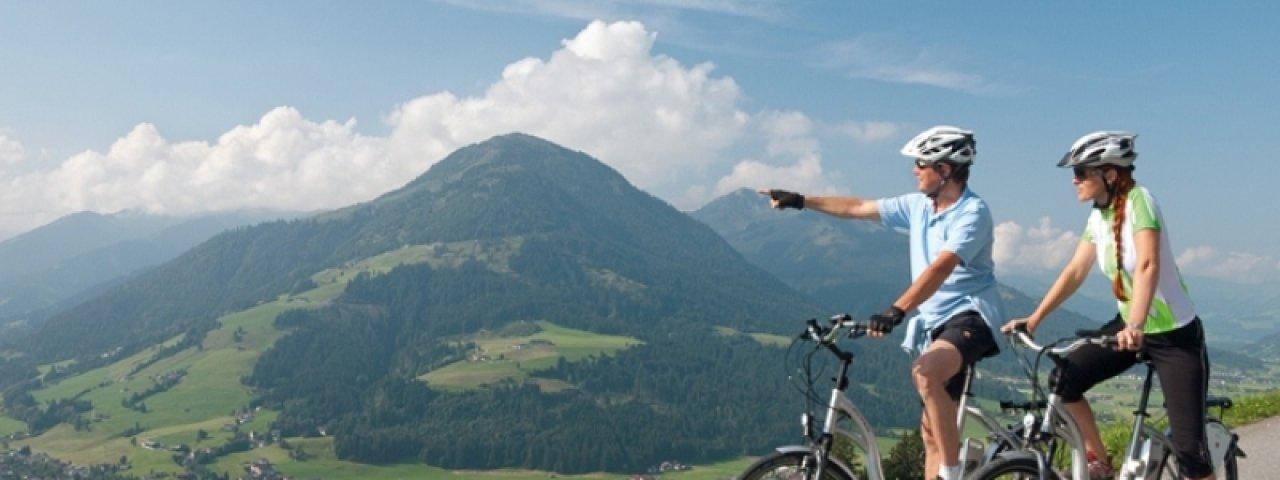 Geniet van het prachtige landschap tijdens deze e-bike tocht, © Kurt Tropper