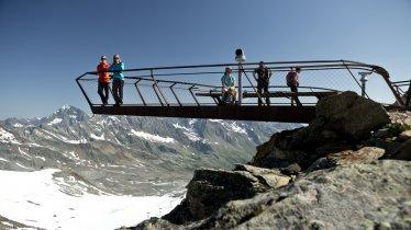 Platform 'Top of Tyrol' bij de Stubaier Gletscher, © Stubaier Gletscher/eyes5-Mirja Geh