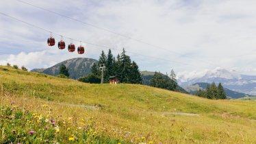 Kabelbaan Fieberbrunn in het Pillerseetal, © Tirol Werbung/Robert Pupeter