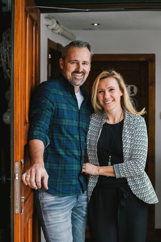 Dave Bradley en Miriam Scherl openden hun deuren voor Netflix