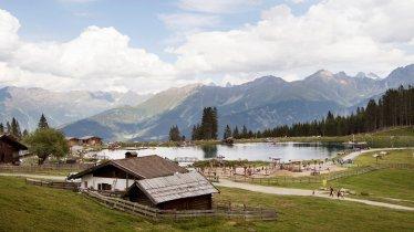 De mooi gelegen Seealm Hög, © Tirol Werbung/Frank Bauer