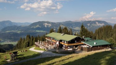 De Angerer Alm bij St. Johann in Tirol