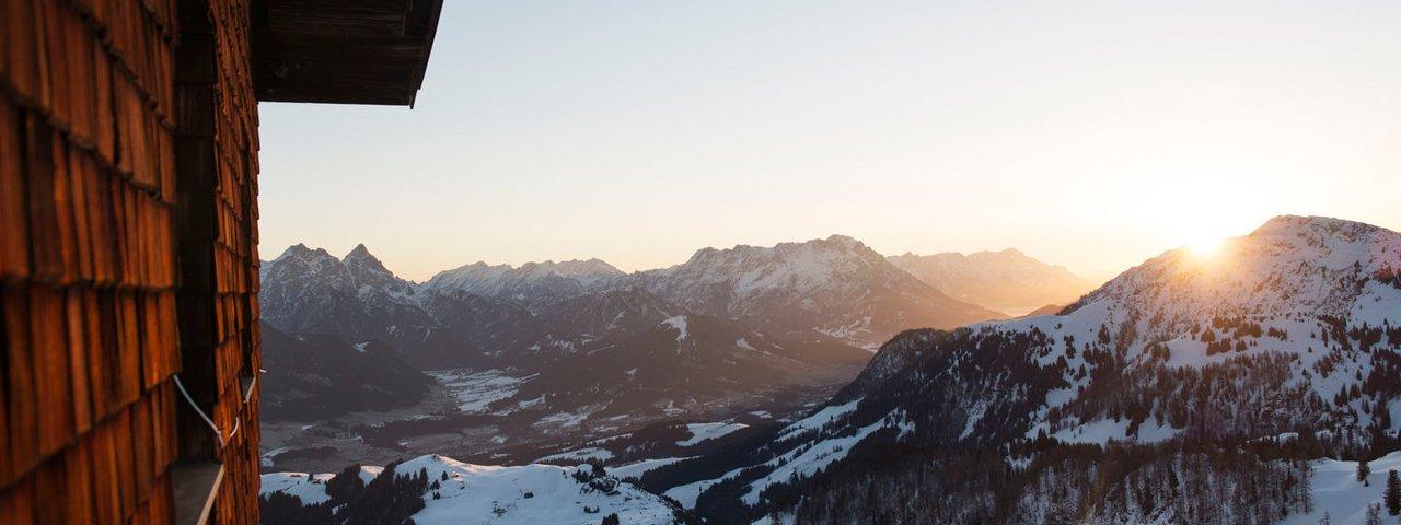 's Avonds in de Kitzbüheler Alpen, © Tirol Werbung - Frank Bauer